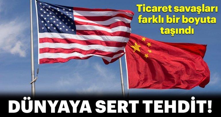 Huawei üzerinden dünya ekonomisine tehdit!