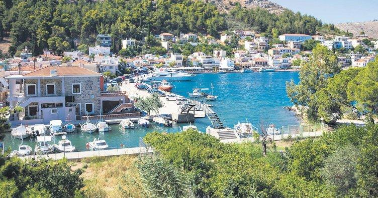 Mavi yolculukla Sakız Adası