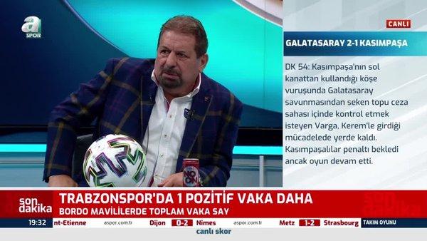 Son dakika: Çok tartışılan penaltı pozisyonunu Erman Toroğlu yorumladı!