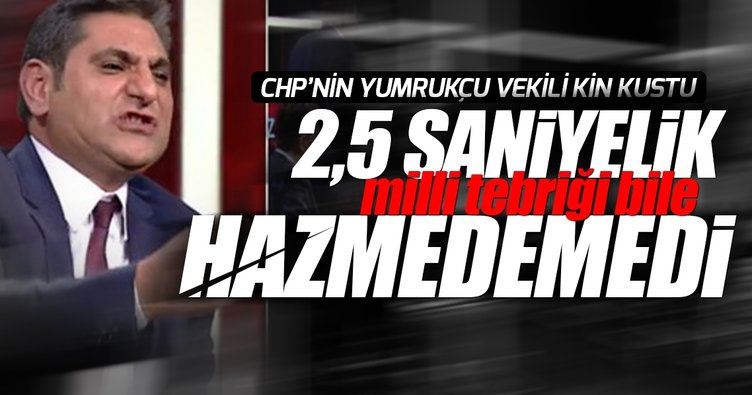 CHP'li vekil 15 Temmuz tebriğini hazmedemedi!