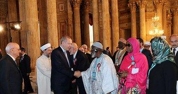 250 müslüman liderin katıldığı Dünya Müslüman Azınlıklar Zirvesi'nden yansıyan kareler