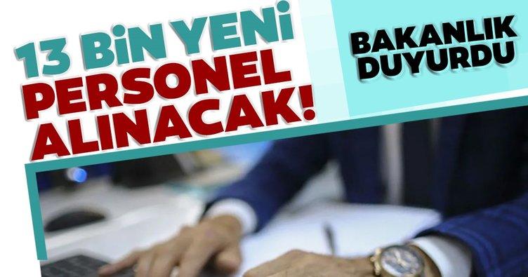 Son dakika haberi: Adalet Bakanlığı personel alım ilanı yayınlandı! 13 bin yeni personel alınacak