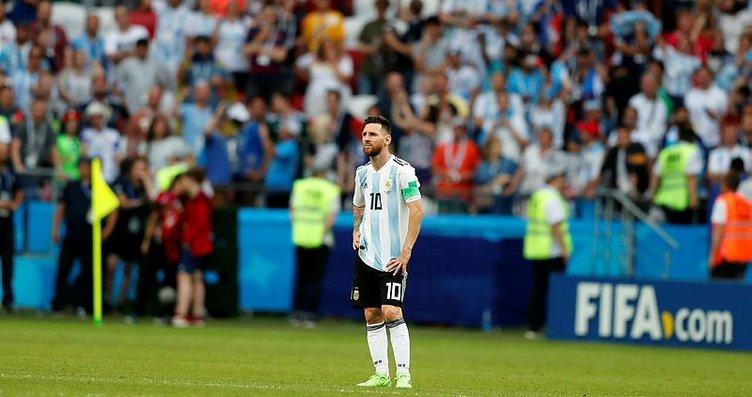 Lionel Messi ve Kylian Mbappe, Dünya Kupası...
