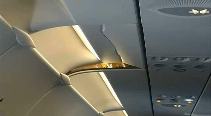 Uçaklarda türbülans sonrası