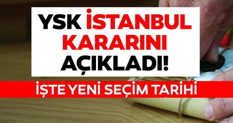 Son dakika haberi: YSK İstanbul seçim sonuçları kararı açıklandı! İstanbul seçimleri iptal edildi ve yenilenecek! Seçim ne zaman?