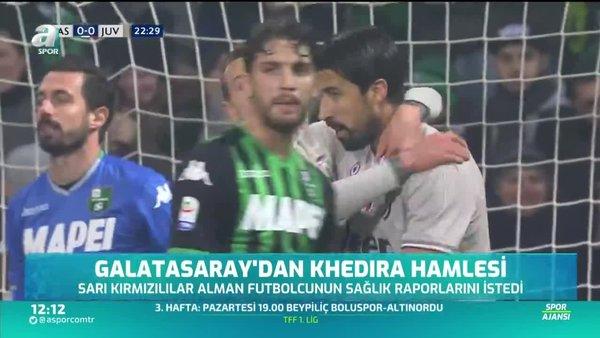 Galatasaray'dan Khedira hamlesi