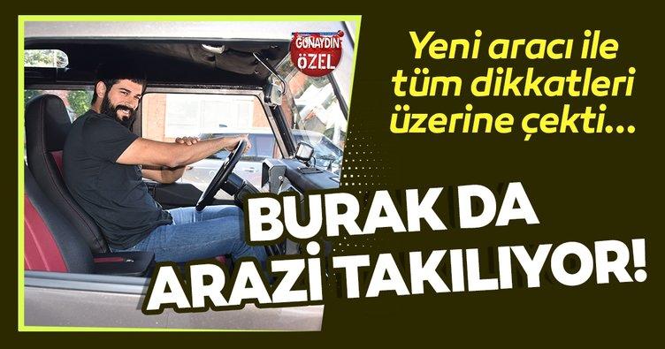 Burak Özçivit de arazi aracı sevenlerden! Kuruluş Osman'ın yıldızı Burak Özçivit yeni aracı ile test sürüşünde yakalandı...