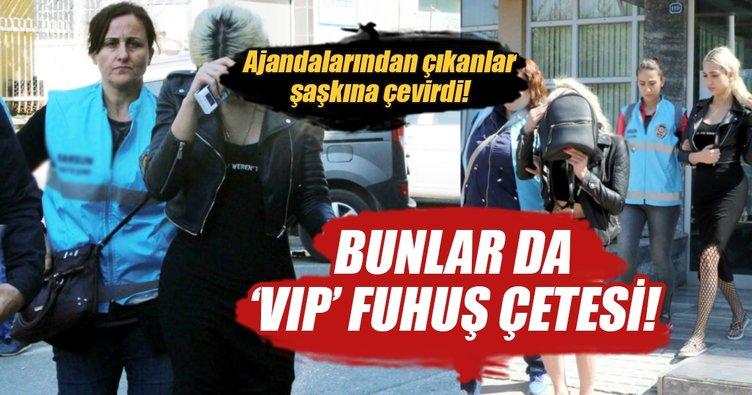 VIP fuhuş çetesine operasyon