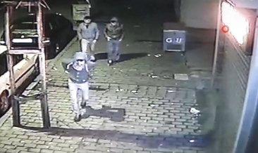 Gaziantep'te ölüm tehlikesine aldırış etmeyen hırsızlar kameralara böyle yakalandı