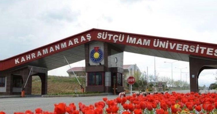 Kahramanmaraş Sütçü İmam Üniversitesi 30 öğretim üyesi alacak