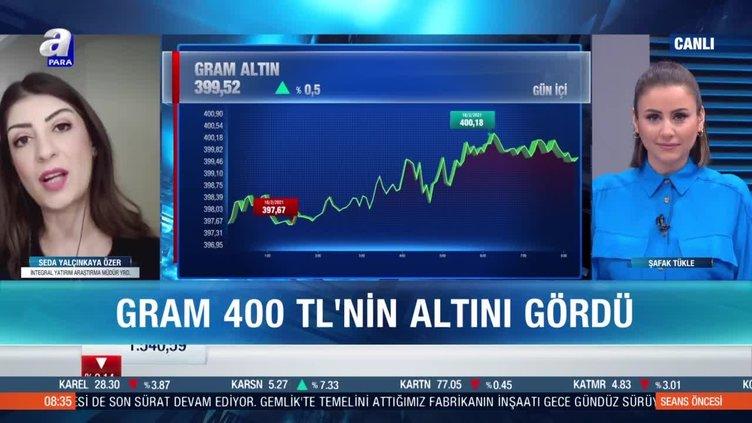 Gram 400 liranın altında kalır mı?