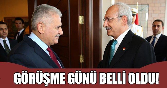 Başbakan Yıldırım ile Kılıçdaroğlu yarın görüşecek