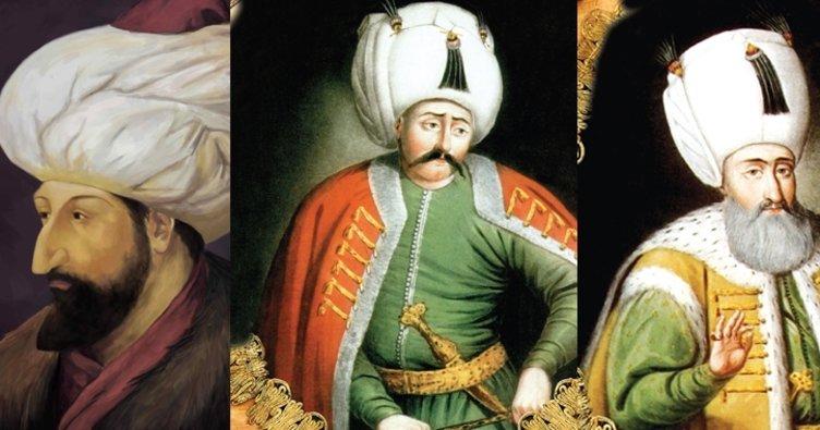 Osmanlı padişahları sıralaması ve tarihleri!