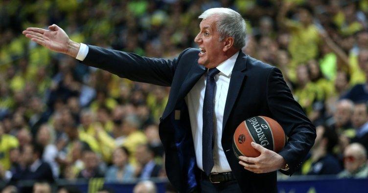 Zeljko Obradovic: Çok iyi savunma yaptığımıza inanıyorum