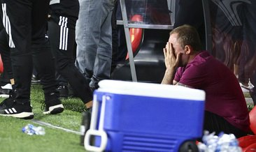 Beşiktaş'ta gözyaşları sel oldu! Sergen Yalçın...