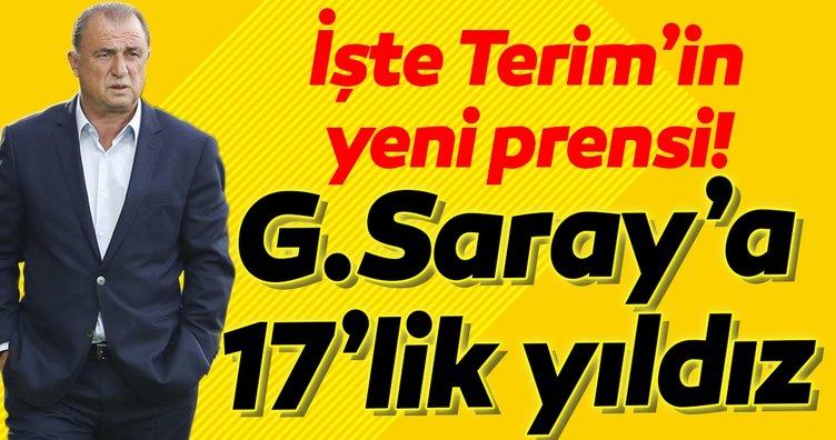 Galatasaray'a genç stoper! İşte Fatih Terim'in yeni prensi...