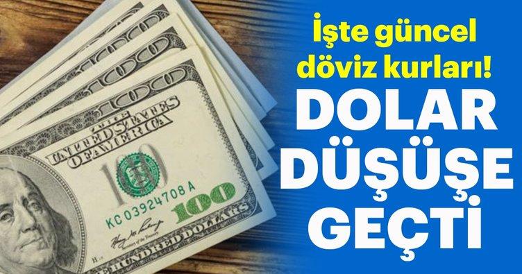 Dolar/TL düşüşe geçti! İşte güncel döviz kurları