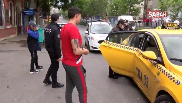Sokağa çıkma yasağını delen taksiciden akılalmaz yanıt: İnsiyatif kullandık   Video