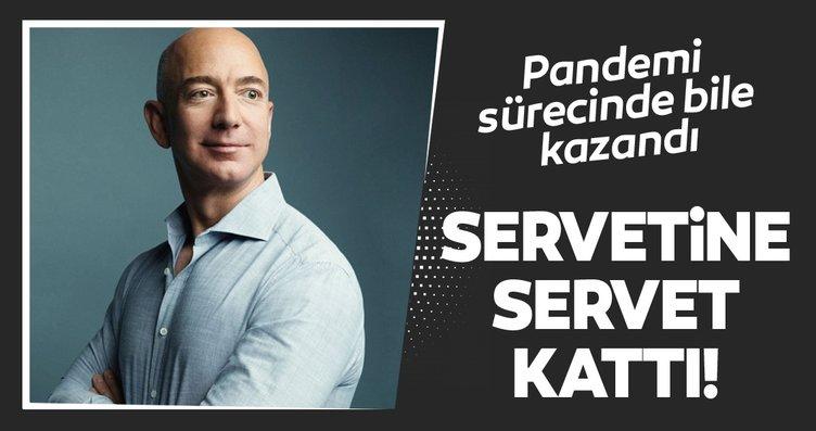 Jeff Bezos bir önceki rekorunu tazeledi! Pandemi...