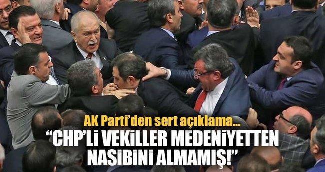 AK Parti Grup Başkanvekili Mehmet Muş'tan kavga açıklaması