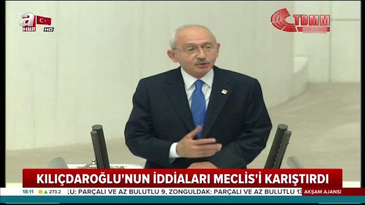 Kılıçdaroğlu'nun Meclis'i karıştıran iddialarına AK Parti'den jet yanıt
