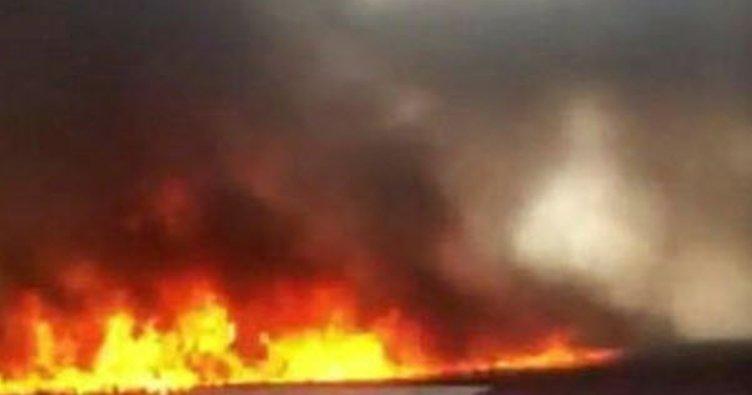 Bağcılar'da bir binanın çatı katında yangın çıktı