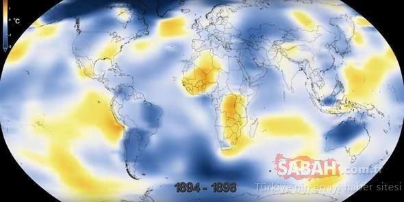 NASA'dan korkutan paylaşım! İşte dünyayı bekleyen büyük tehlike... Dünya haritası değişebilir!