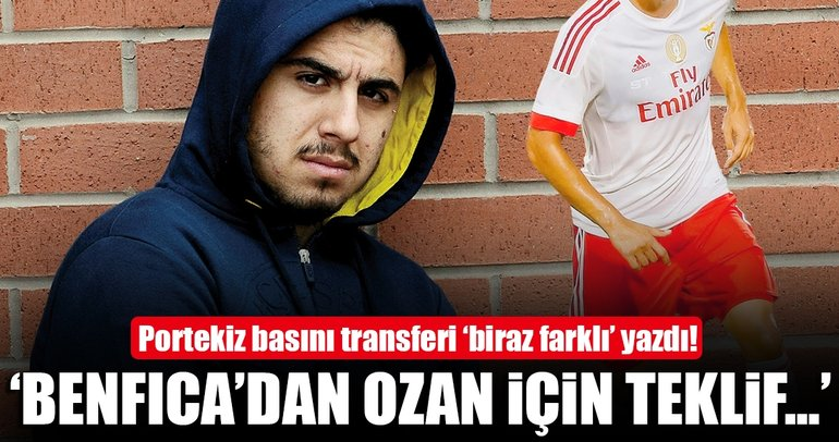'Menajeri Ozan'ı Benfica'ya önerdi, teklif yok!'