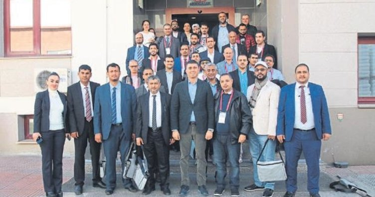 Yemen heyetinden AOSB'de inceleme