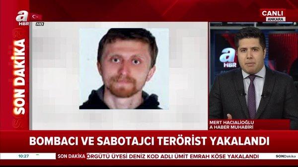 1 milyon 500 bin TL ödülle mavi kategoride yer alan terörist Deniz kod adlı Ümit Emrah Köse yakalandı