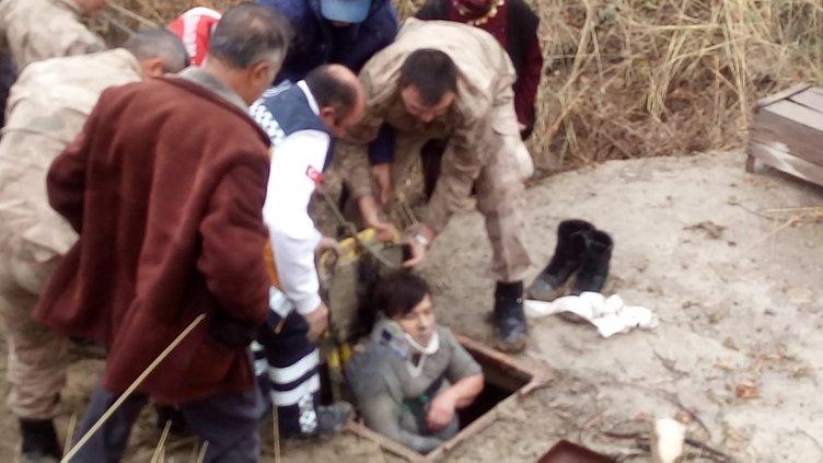 Kayıp olarak aranan zihinsel engelli kadın, su kuyusunda bulundu