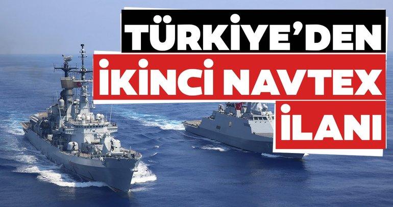 Son dakika: Türkiye'den NAVTEX yeni reklamı!  9 Kasım'a kadar sürecek