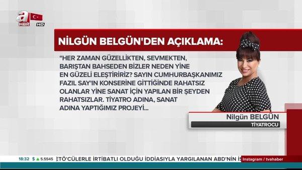 Nilgün Belgün'den Cumhuriyet'in yalanı ve bazı oyuncuların yakışıksız ifadelerine tepki