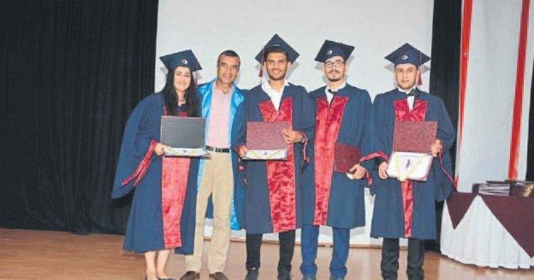 Beden Eğitimi ve Spor MYO'da mezuniyet