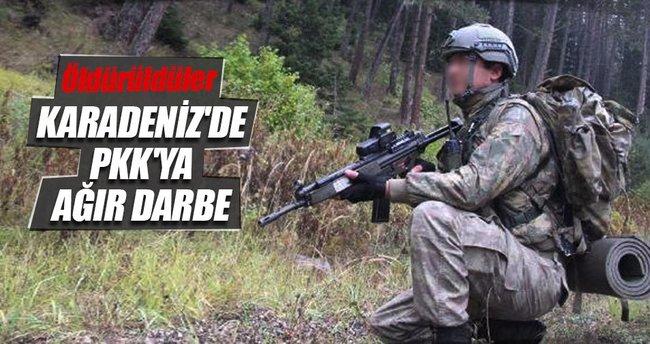 PKK/KCK'nın Karadeniz Açılım Grubu'na ağır darbe