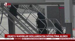 Türkiye'den sınır dışı edilen DEAŞ'lı kadınlar Hollanda'da gözaltına alındı