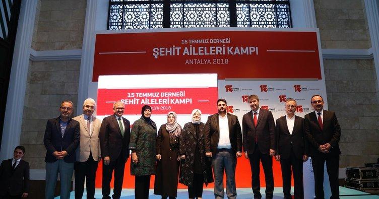 15 Temmuz Derneği Antalya'da şehit ailelerini buluşturdu