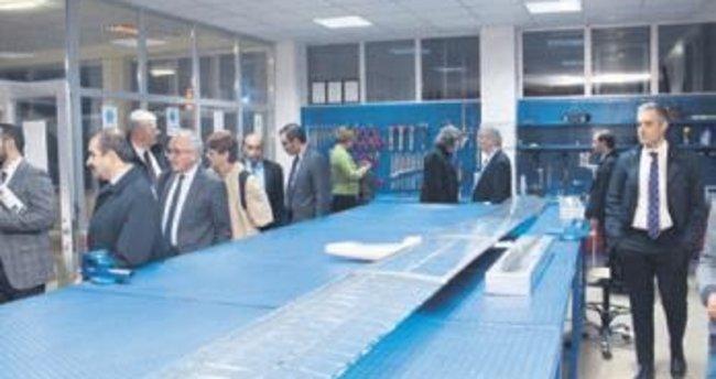 AB parlamenterleri Teknopark'ı gezdi