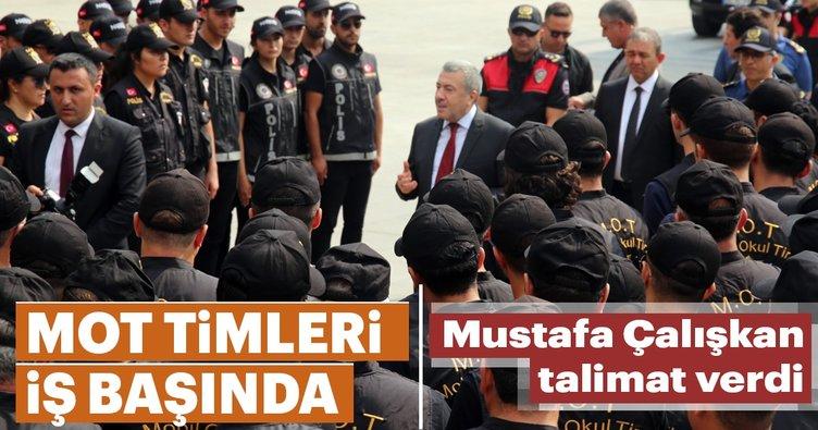 Mustafa Çalışkan talimat verdi