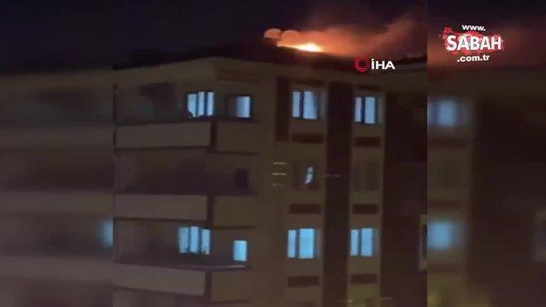 Şampiyonluk kutlaması sonucu patlatılan maytap yangına sebep oldu   Video
