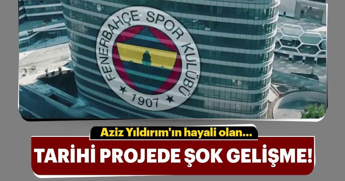 Aziz Yıldırımın Fenerbahçe üniversitesi Projesi Tarihe Karıştı