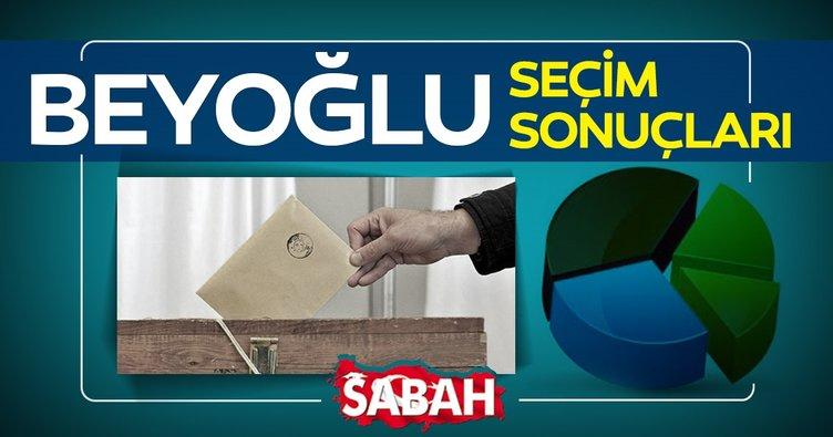 Beyoğlu Seçim sonuçları! 23 Haziran Beyoğlu seçim sonuçlarında Binali Yıldırım mı Ekrem İmamoğlu mu önde?