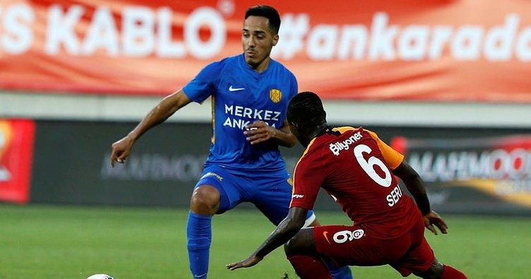 Galatasaray Başkent'te kaybetti! Ankaragücü 1-0 Galatasaray MAÇ SONUCU