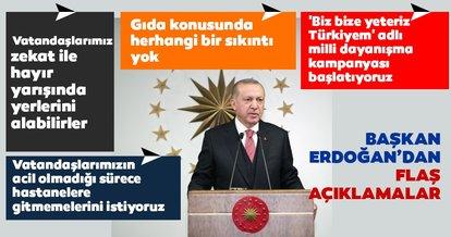 Son Dakika Haberi: Başkan Erdoğan açıkladı! Milli Dayanışma Kampanyası başlatıldı...