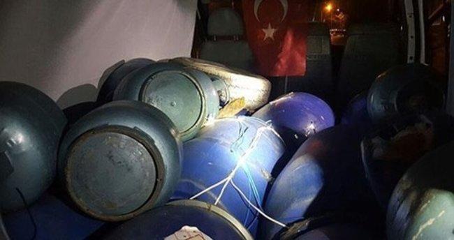 Diyarbakır'da çivi ile güçlendirilmiş 100 kilo bomba ele geçirildi