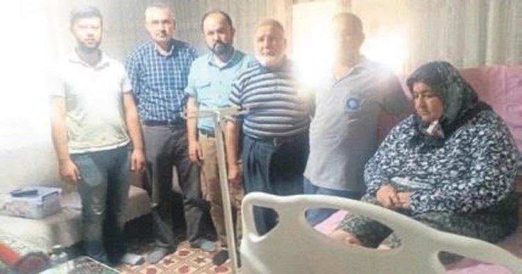 Büyükşehir'den hastalara yatak