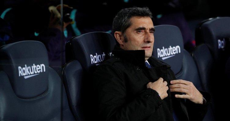 Barcelona'da Ernesto Valverde görevde kalıyor