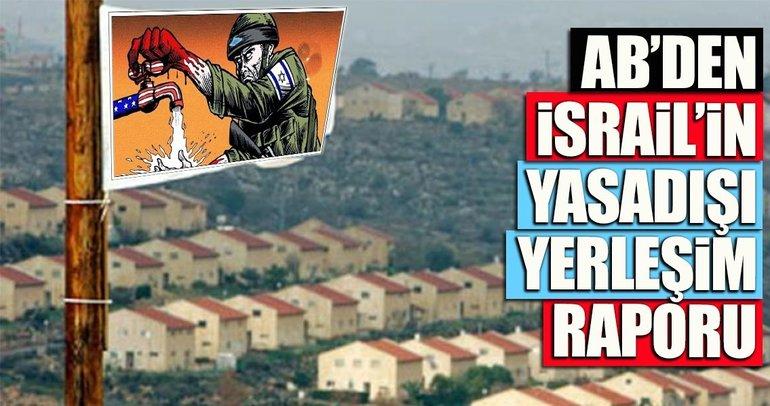 AB'den yasa dışı İsrail yerleşim yerleri raporu
