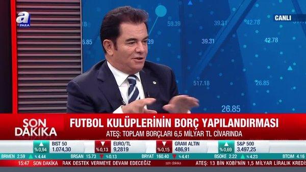 Hakan Ateş: Futbol kulüplerinin borç yapılandırılmasında sona gelindi
