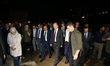 İçişleri Bakanı Soylu, Düzce'de